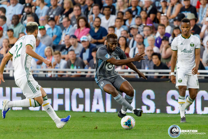 US Open Cup 2019:  Minnesota United vs Portland Timbers - August 7, 2019