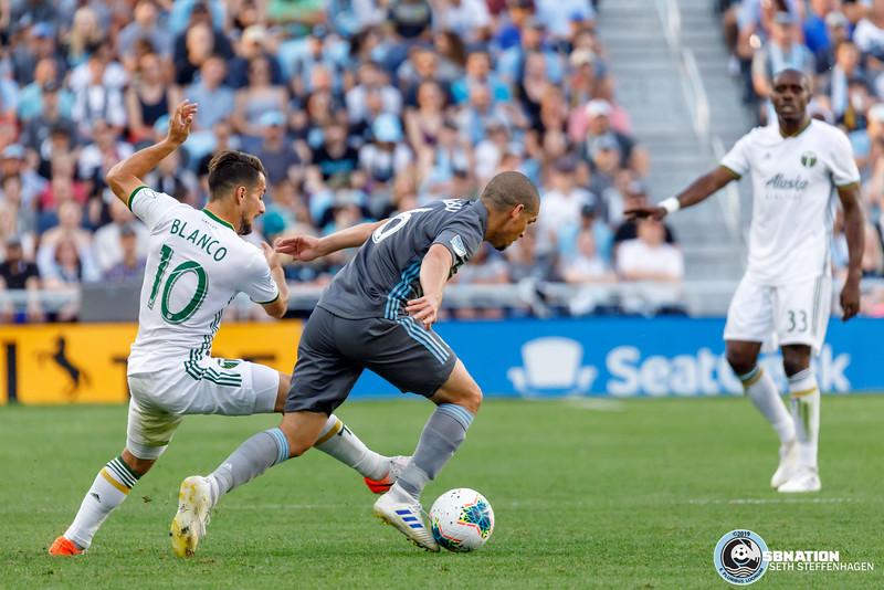 US Open Cup 2019:  Minnesota United vs Portland Timbers - August 7, 2019