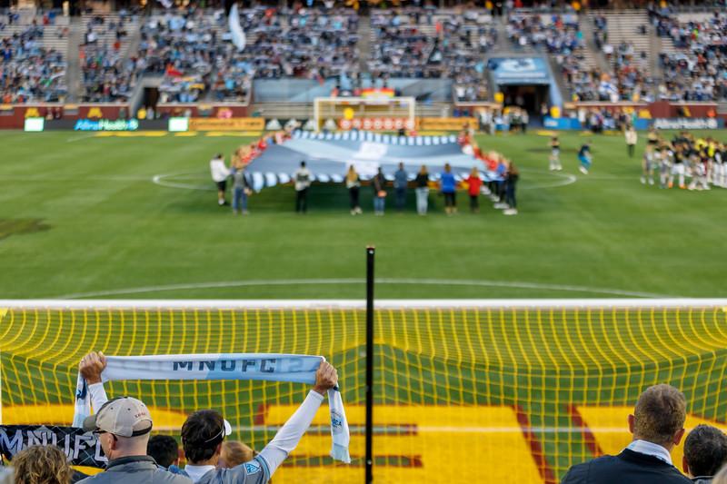 MLS 2018: Minnesota United vs Seattle Sounders - September 22, 2018