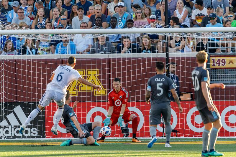 MLS 2018: Minnesota United vs Real Salt Lake - July 14, 2018