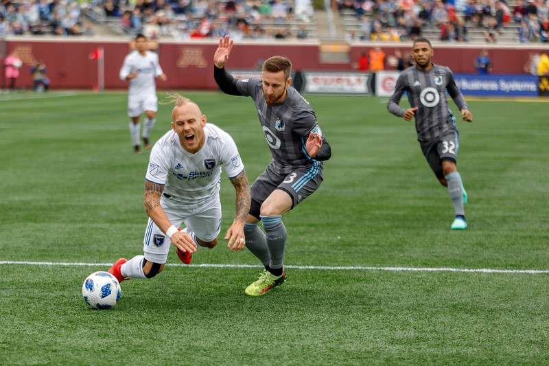 MLS 2018: Minnesota United vs San Jose Earthquakes - May 12, 2018