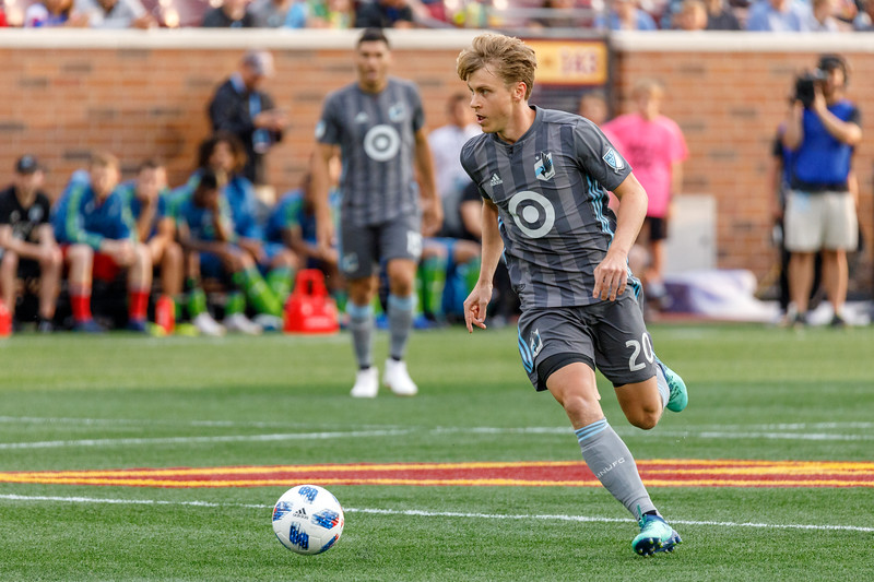 MLS 2018: Minnesota United vs Seattle Sounders - August 4, 2018