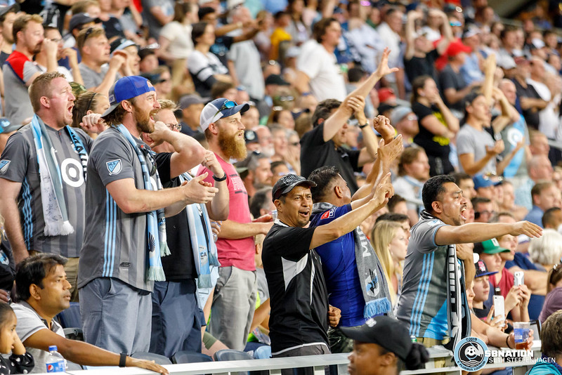 International Friendly 2019:  Minnesota United vs Vancouver Whitecaps - July 27, 2019