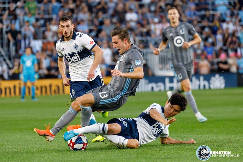 International Friendly 2019:  Minnesota United vs Vancouver Whitecaps - July 27, 2019