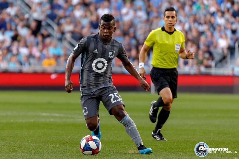 MLS 2019:  Minnesota United vs Vancouver Whitecaps - July 27, 2019