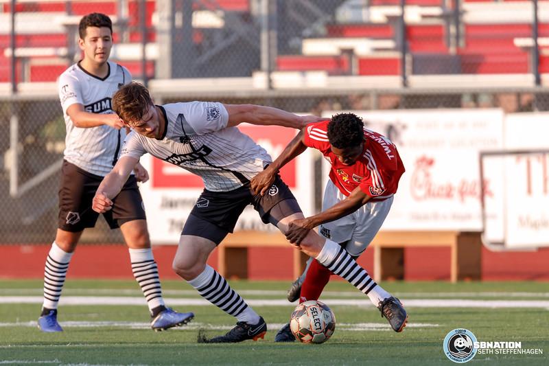 NPSL 2019:  MapleBrook TwinStars vs Minneapolis City SC - May 29, 2019