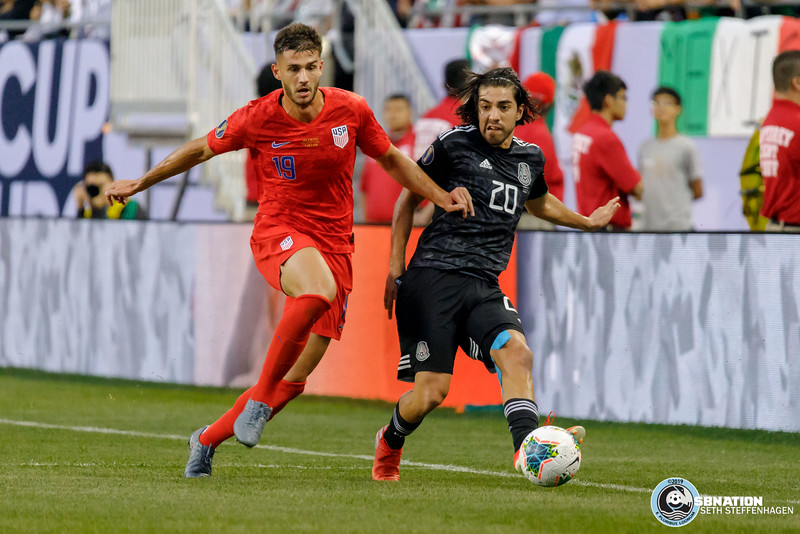 Gold Cup 2019:  Mexico vs USA - July 7, 2019