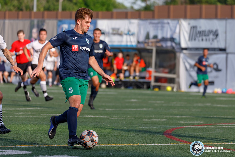 NPSL 2019:  Minneapolis City SC vs Med City FC - July 12, 2019