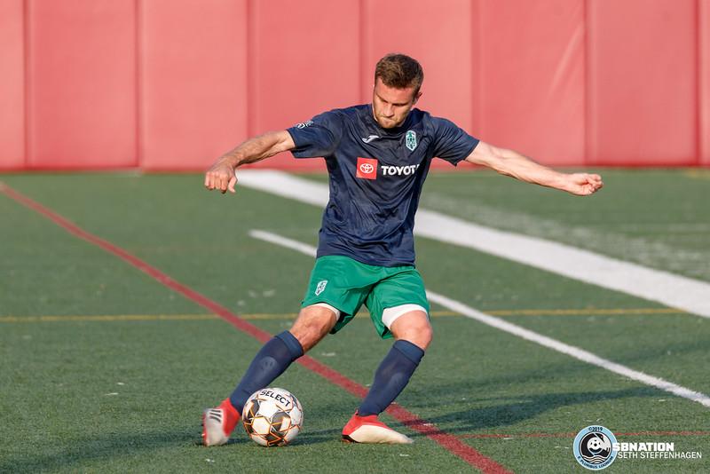 NPSL 2019:  Minneapolis City SC vs Med City FC - July 12, 2019