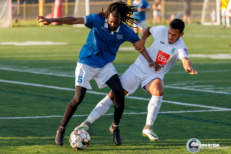 NPSL Playoffs 2019:  Minneapolis City SC vs Med City FC - July 16, 2019