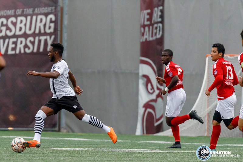NPSL 2019:  Minneapolis City SC vs MapleBrook Twinstars - June 22, 2019