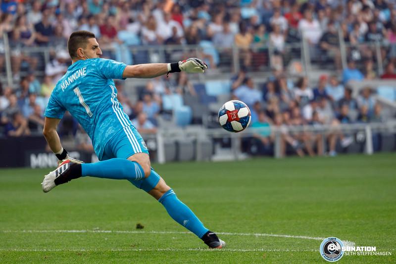MLS 2019:  Minnesota United vs FC Dallas - July 13, 2019