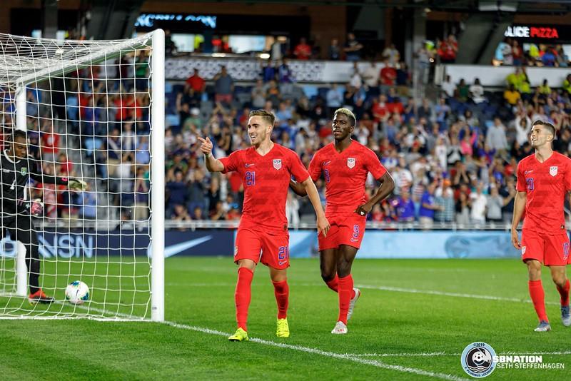 Gold Cup 2019:  USA vs Guyana - June 18, 2019