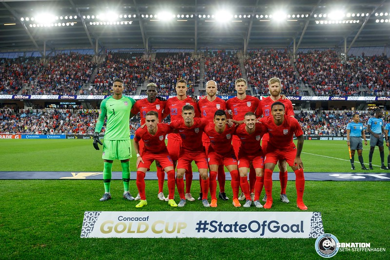 Gold Cup 2019:  USA vs Guyana - June 18, 2019