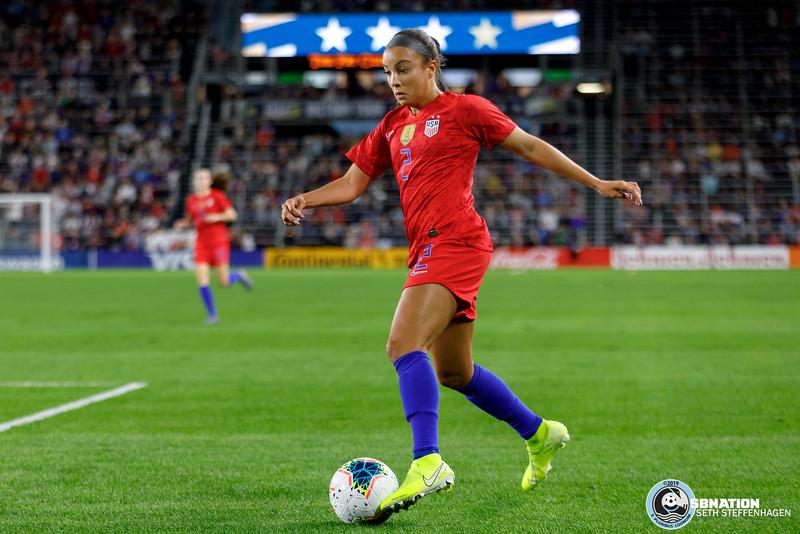 USWNT Victory Tour:  USA vs Portugal - September 3, 2019