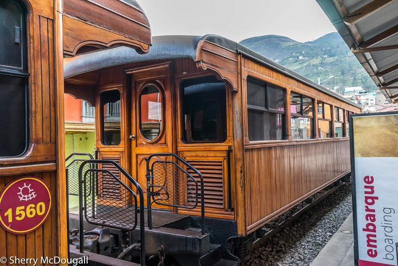 """The Devil's Nose Route is, without a doubt, the most impressive section of Ecuador's railway: a hair-raising trip down the rocky slopes of the Andes departing form the town of Alausi to the town of Simbambe on the way down to the Coastal Region<br /> <br /> Originally published by Columbus Travel, generated on the following link: <a href=""""http://www.ecuadorrail.net/ecuador-train-tours/devils-nose.html"""">http://www.ecuadorrail.net/ecuador-train-tours/devils-nose.html</a>. This content is copyright and may not be republished. Please contact us if you need more information about our products. ColumbusEcuador.com"""