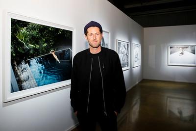 Celebrity photographer Adam Franzino MUSES Exhibition at Milk