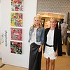 OCMA evening with Alexandra von Fürstenberg and artist Stephanie Hirsch at Elyse Walker Newport Beach