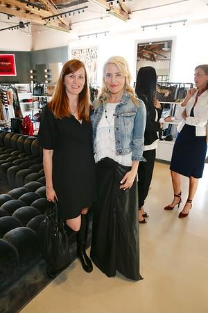 OCMA evening with Alexandra von Fürstenberg and artist Stephanie Hirsch at Elyse Walker Newport Beach