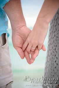 Engagement Photographers at Okaloosa Island in Fort Walton Beach, FL.