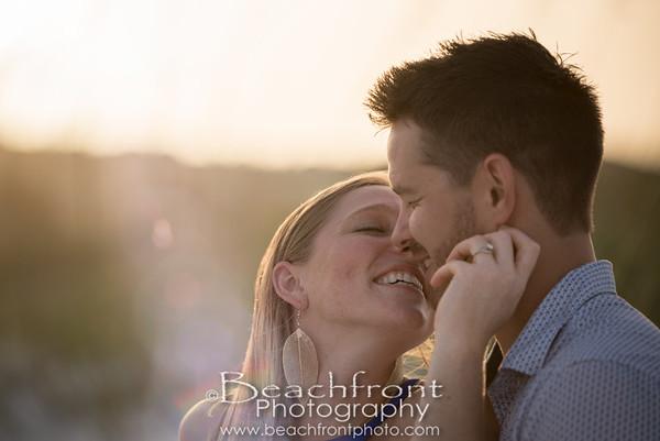 Lindsey & Cody - Engagement Photography Session taken on Okaloosa Island in Fort Walton Beach / Destin, FL.