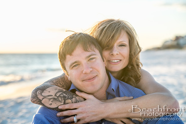 Maggie & Brian - 30a/Seaside Engagement Photographers