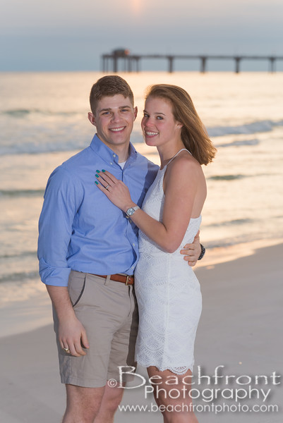 Morgan & Kyle - Engagement photographers in Fort Walton Bweach/Destin, FL.