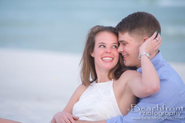 Morgan & Kyle - Engagement photographers in Fort Walton Bweach/Destin, FL.