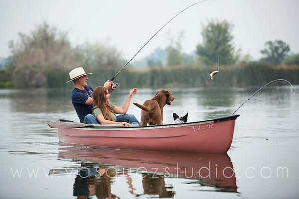 Amanda + Eric // Moses Lake engagement by Vasquez Photography