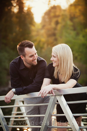 Kate + Alex // Mercer Island engagement by Vasquez Photography