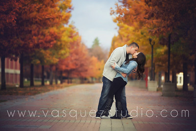 Maira + Raymond // EWU engagement by Vasquez Photography