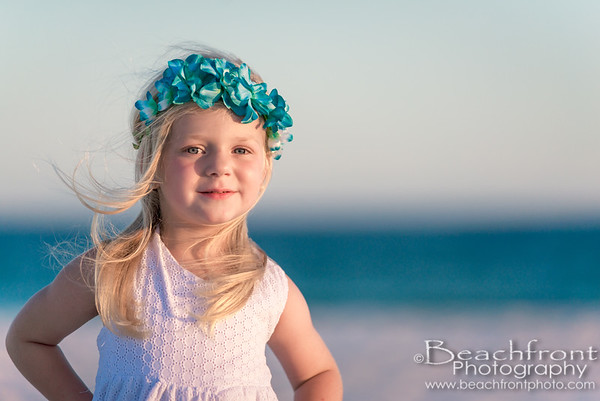 Family Beach Portrait Photographer in Destin, FL.