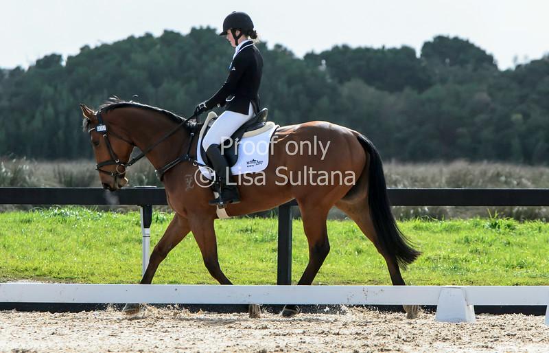 Tamara Campain riding BALERION