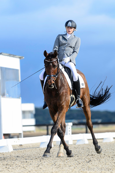 Karlie Owen riding Bloomfield Royal Prince