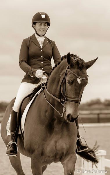 Meg Klaaysen riding Heatheron Park Chemistry