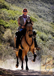 Melissa from Telluride and her Paso Fino