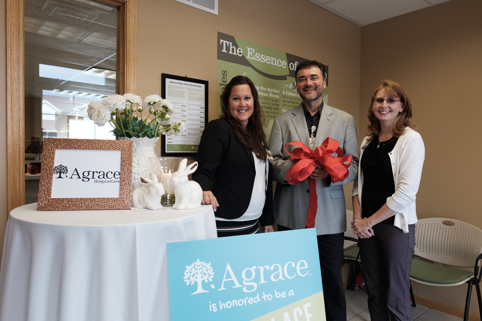 AGrace Rockford Ribbon Cutting