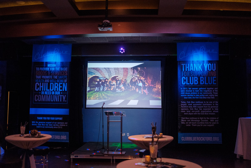 Club Blue Kickoff party 2017