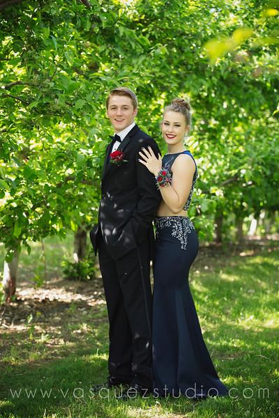 Elise & Matt Prom