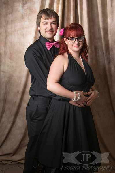 Having fun at the Pompadour Prom. Located at The Otherside in Freeland Pennyslvania