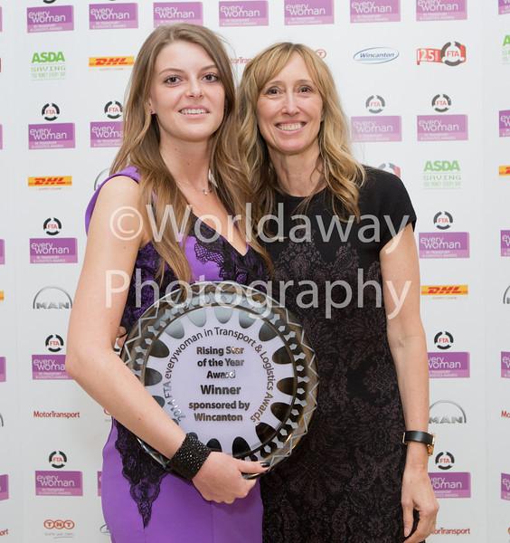 2014 FTA everywoman in Transport & Logistics Awards. The Savoy, London.