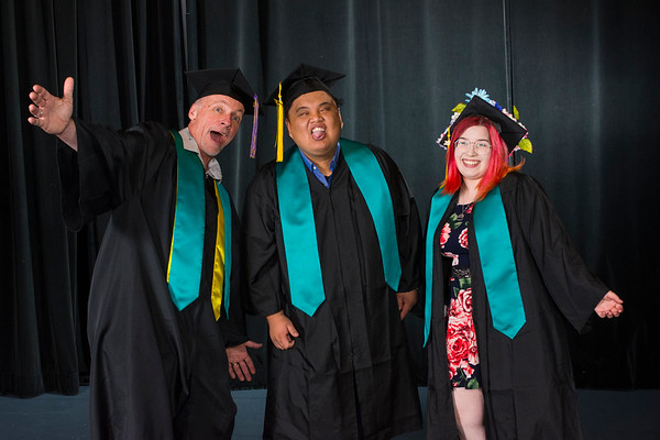 Expressions College graduates October 23, 2019