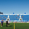 NASL match between FC Edmonton and New York Cosmos at Clarke Field on Jul 17, 2017 in Edmonton, Alberta, Canada