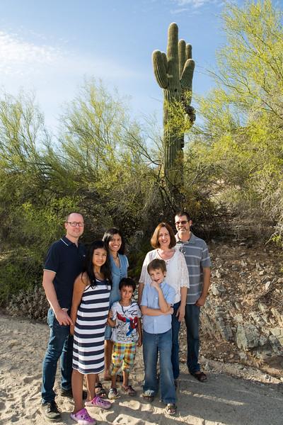 Cunningham Rice Family 2015