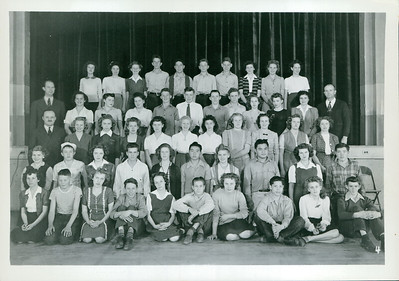 Thedora 15 yr. 1944.  Top Row, 3rd Person