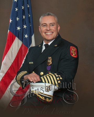 Fire Chief Luis Nevarez