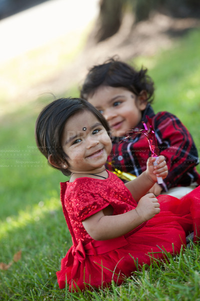 Burra Family - First Birthday