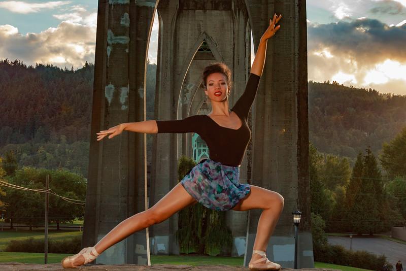 Jazmin Ballet Dancer St Johns Bridge-9308