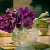 0282A<br /> <br /> Purple Callas and Orchids in Vase
