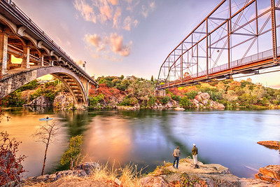 Folsom's Two Bridges